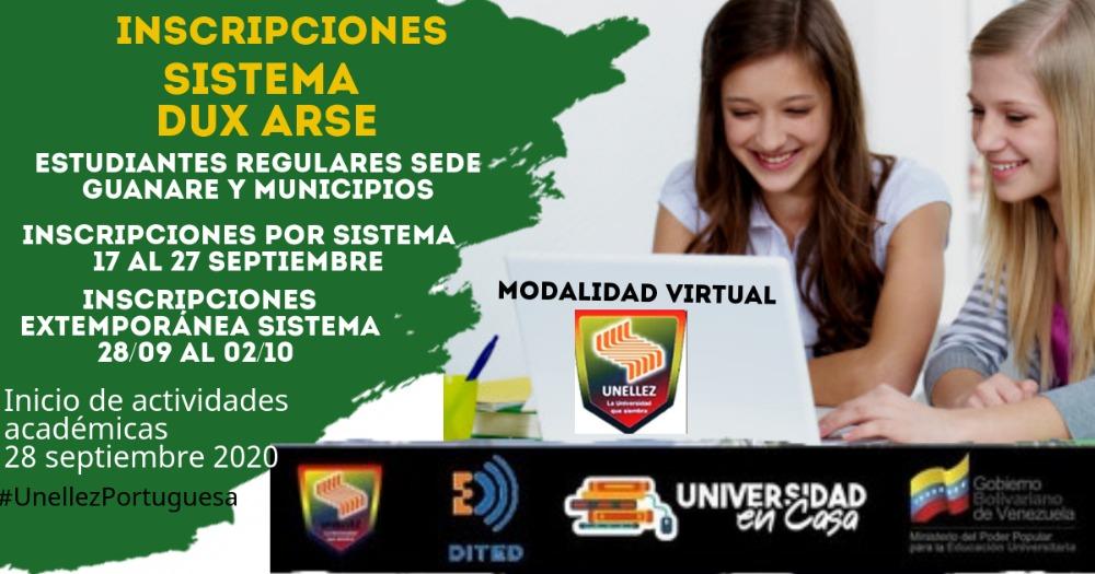 VPA abre proceso de inscripción para estudiantes regulares de Sede y municipios