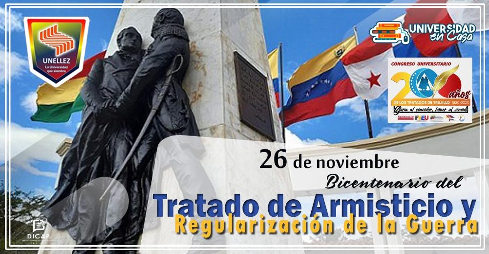 A 200 años de la firma del Armisticio de Trujillo