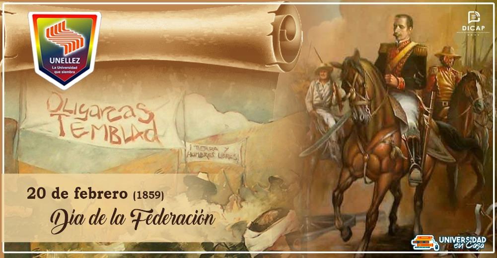 Día de la Federación |e inicio de la Guerra Federal.