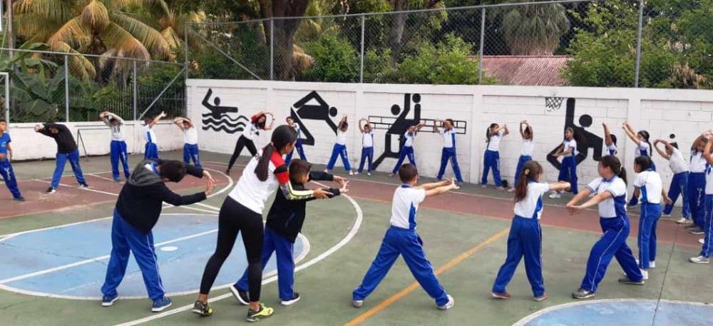 """Deporte Unellez dicta clínica en el Instituto Educativo """"Nuestra Señora de Fátima"""""""