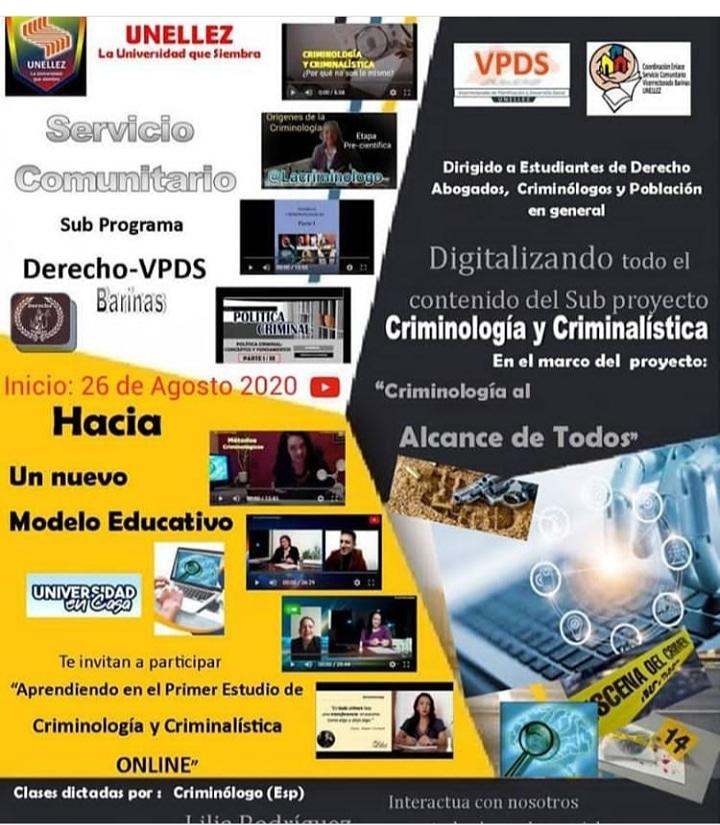 Servicio Comunitario VPDS apuesta a  nuevas modalidades educativas
