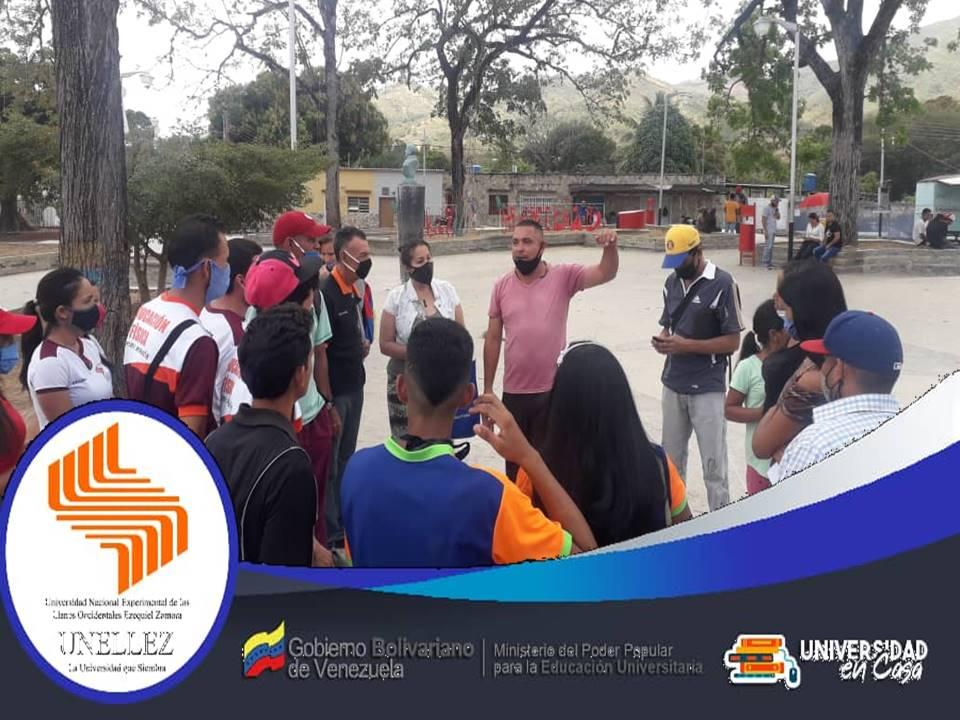Extensión Municipalizada Lima Blanco planificaactividades de vinculación comunitaria