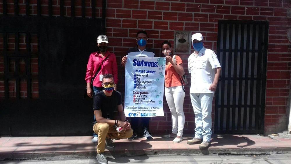Estudiantes de Achaguas promueven charlas preventivas del Covid-19