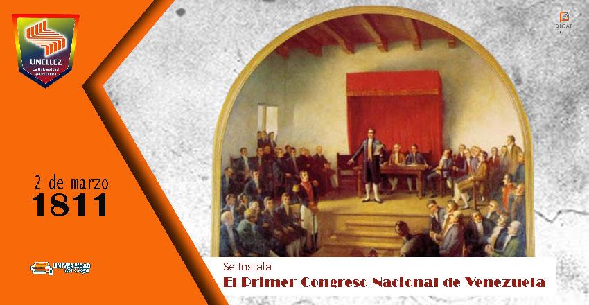 210 años de la instalación del Primer Congreso de Venezuela