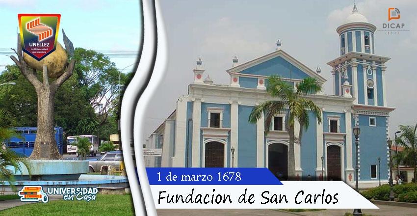 1 de marzo: Fundación de San Carlos