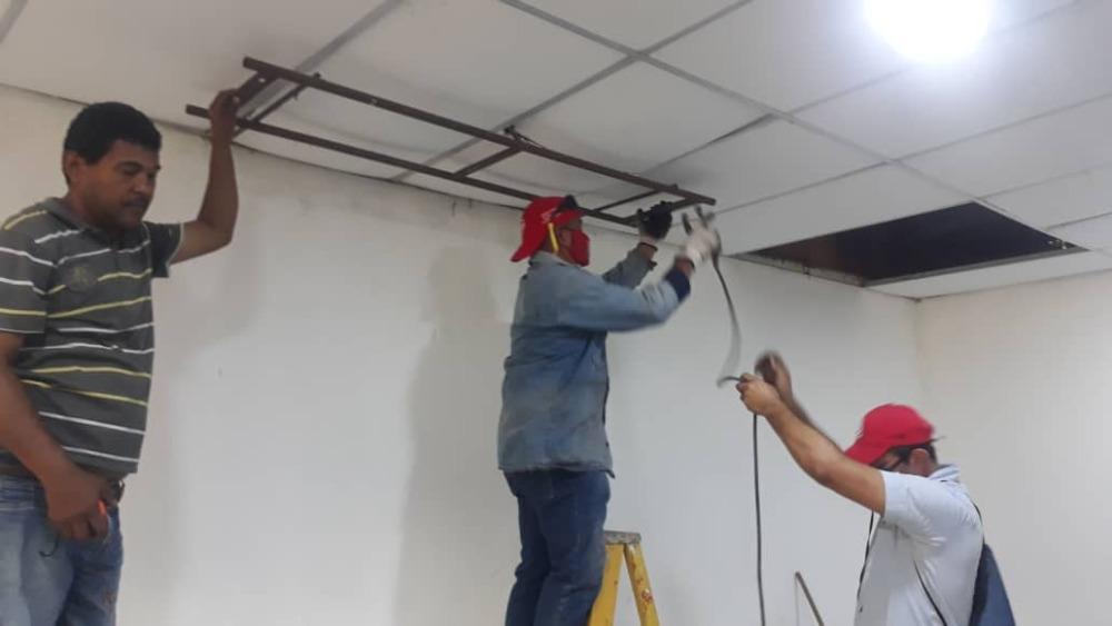 Servicios Generales avanza en mantenimiento de espacios del VPDS