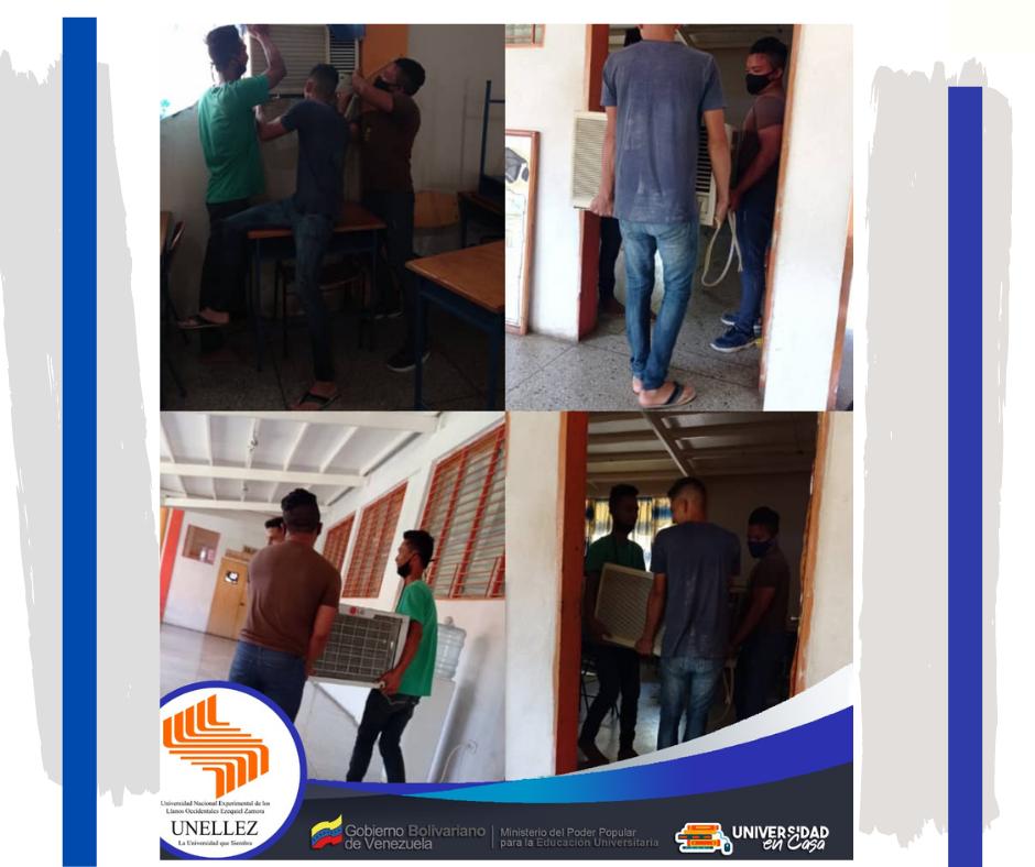 Prestadores de Servicios Comunitarios colaboran en Extensión Municipalizada Girardot