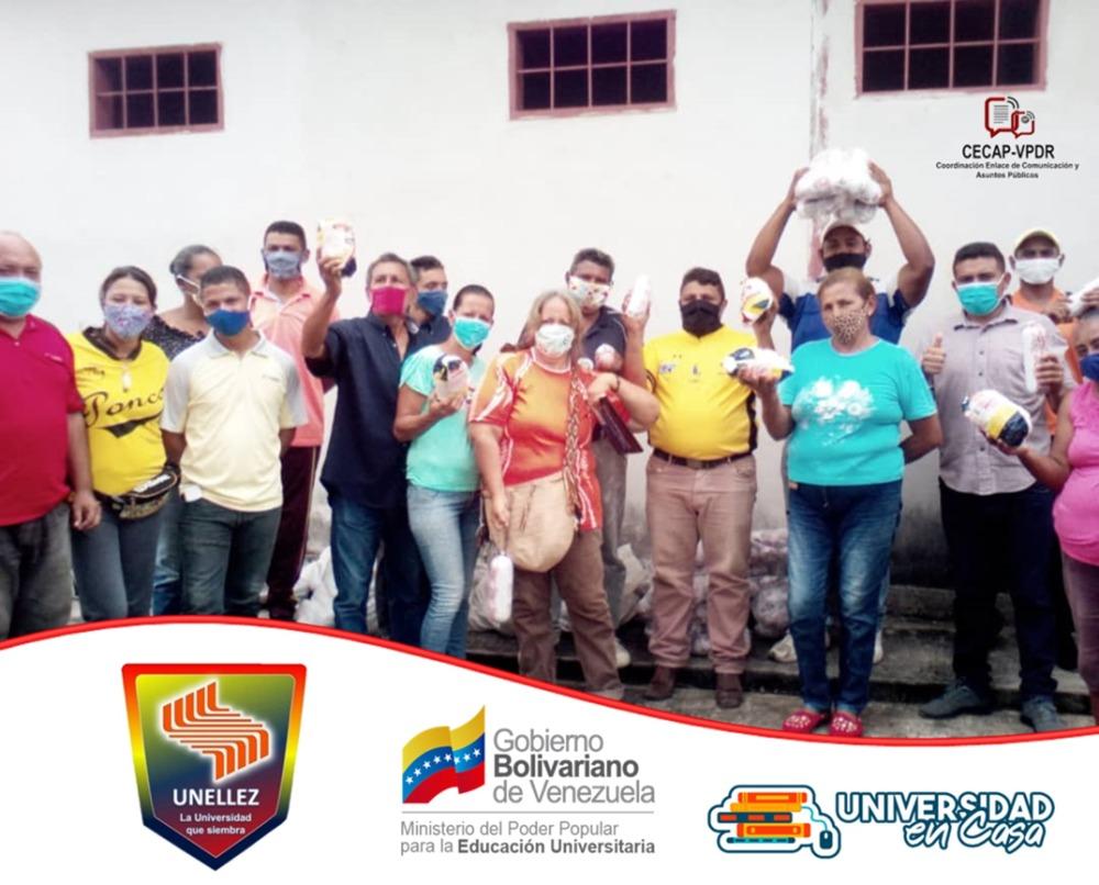 Trabajadores de Municipalizada Achaguas reciben proteínas cárnicas