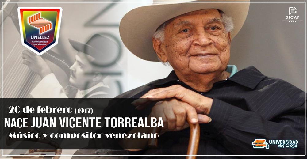 Natalicio de Juan Vicente Torrealba