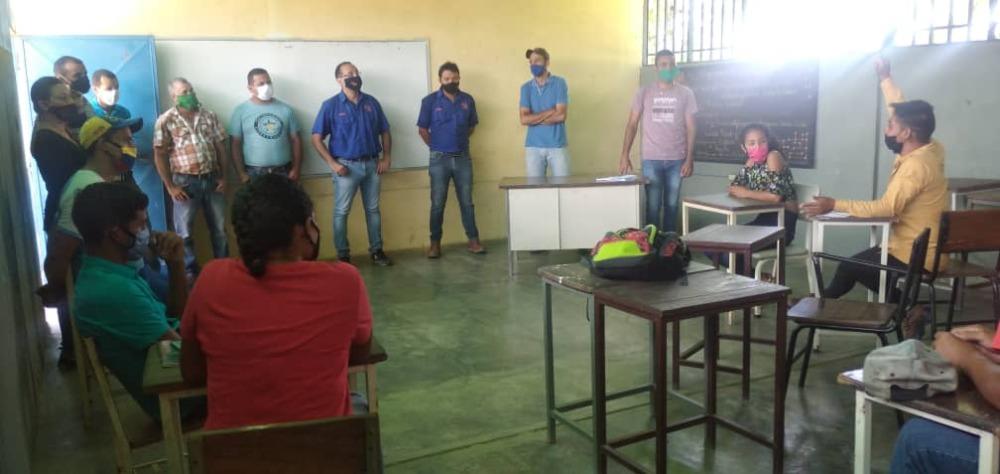 Dirigencia estudiantil de  Ricaurte celebra acercamiento con  nueva gestión del VIPI