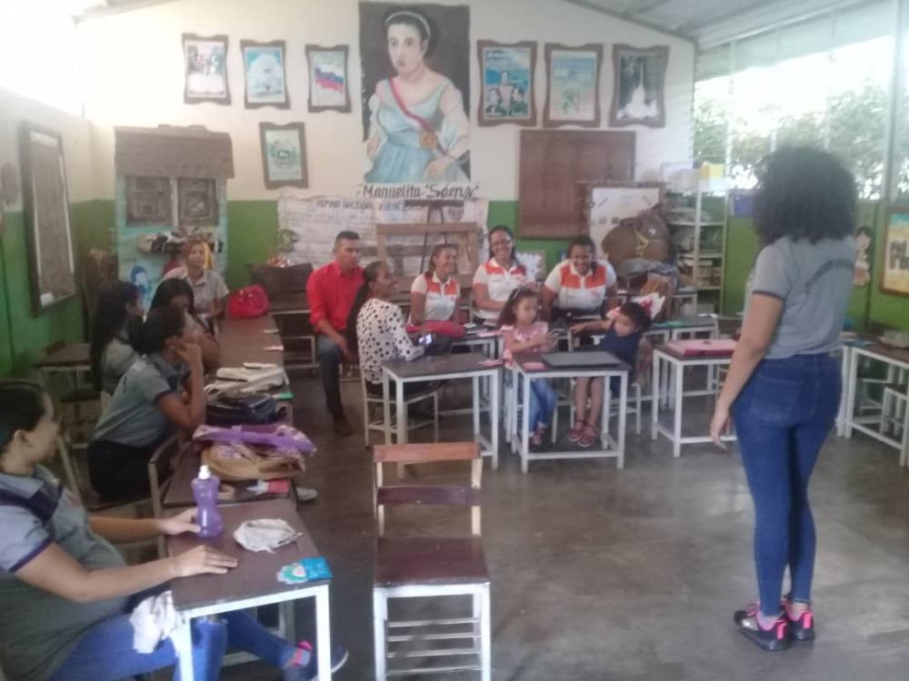 Orientación inicia vinculación social en instituciones educativas de Mantecal