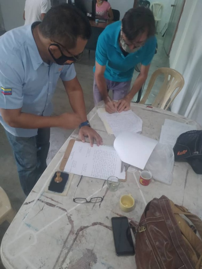 VPDS inicia  registro de bienes e inmuebles