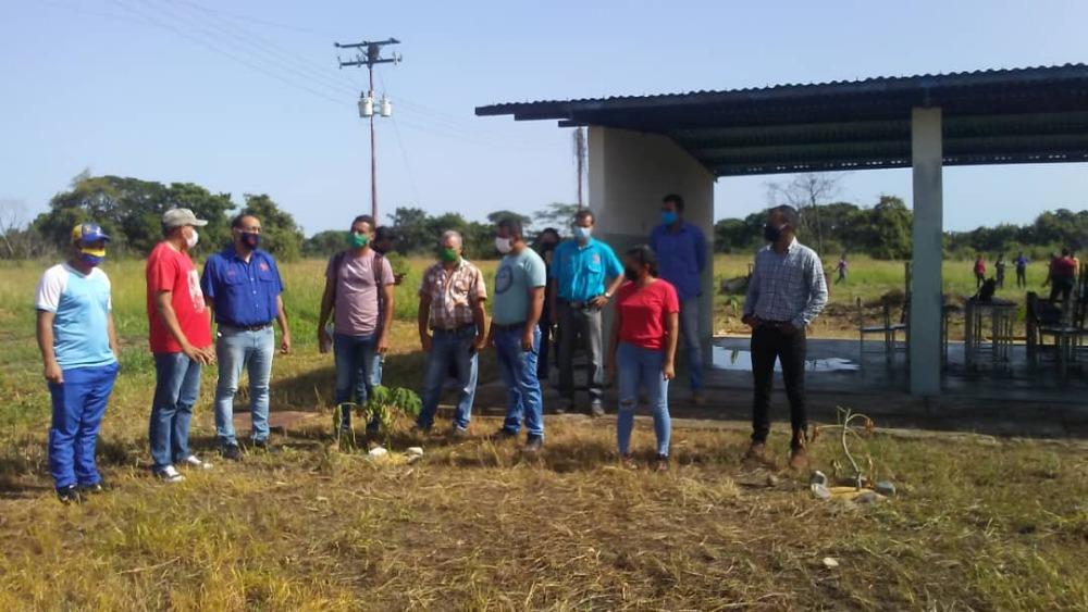 Autoridades del VIPI realizan visita a la extensión municipalizada Ricaurte