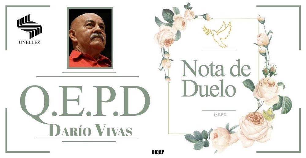 Nota de Duelo Darío Vivas