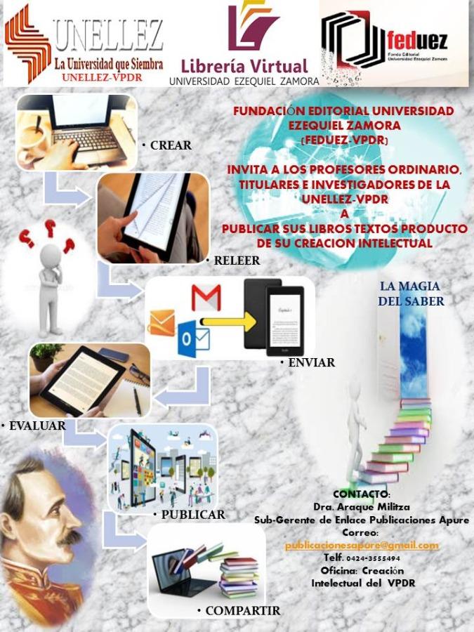 Feduez invita a publicar Libro-Texto Digital producto de su creación intelectual