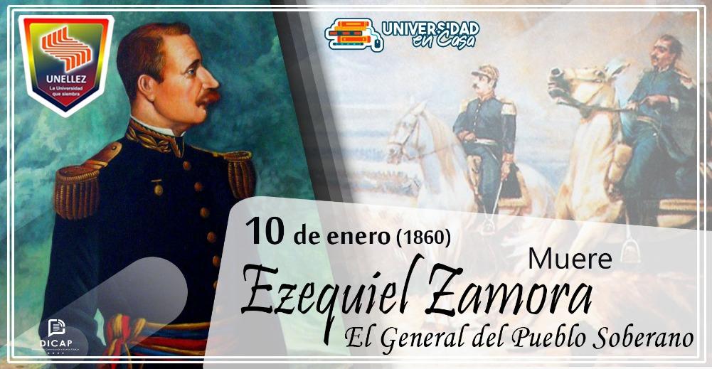 10 de enero| Muere Ezequiel Zamora