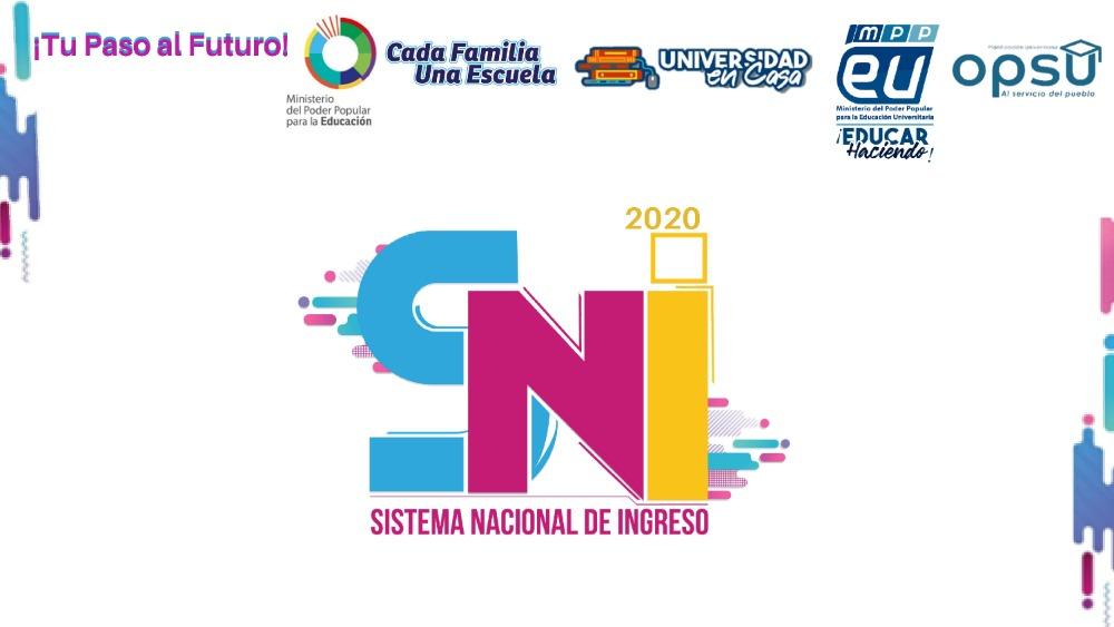 El 24 de abril inició primera etapa en línea del Sistema Nacional de Ingreso a universidades