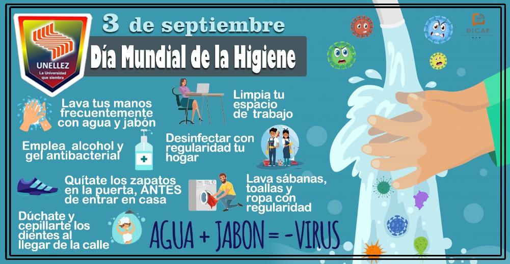 3 de septiembre:Día Mundial de la Higiene