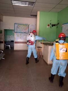Bomberos de la Unellez realizan incansable labor por la salud de la población barinesa