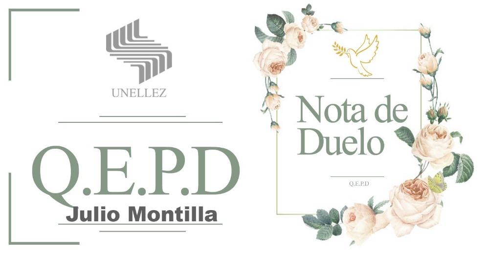 Nota de Duelo: Julio Montilla