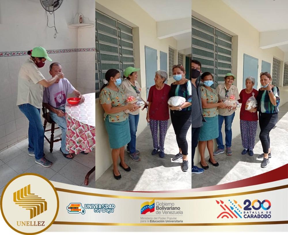 VPDR efectuó trabajo comunitario en Asilo de Ancianos