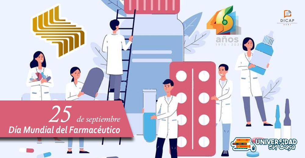 25 de septiembre:Día Mundial del Farmacéutico