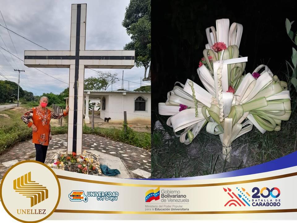 Estudiantes de Ricaurte participan en Velorio de Cruz de Mayo