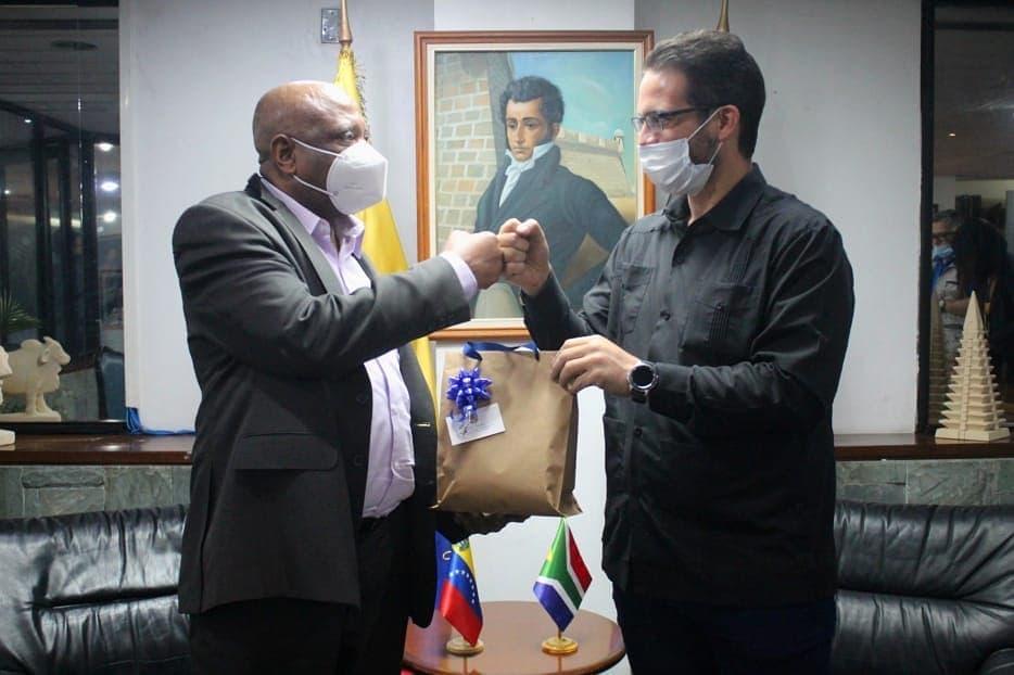 Venezuela y Sudáfrica fortalecen relaciones bilaterales en materia Universitaria