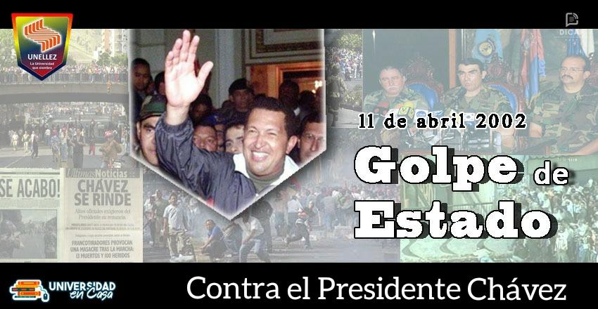11 de abril del 2002: Golpe de estado contra el Presidente Chávez