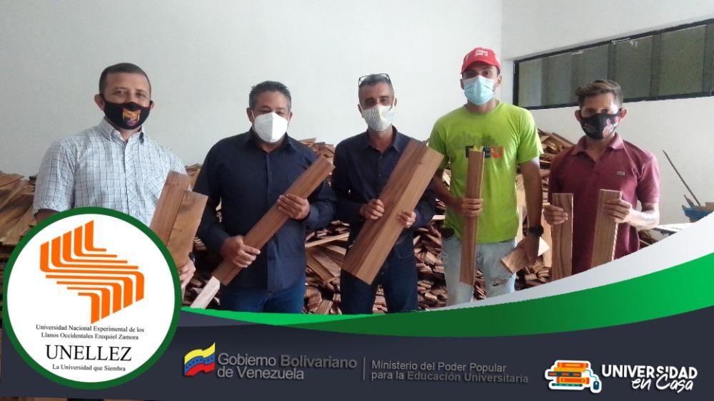 Unellez recibió 800 Metros de madera para el techo del Biocentro