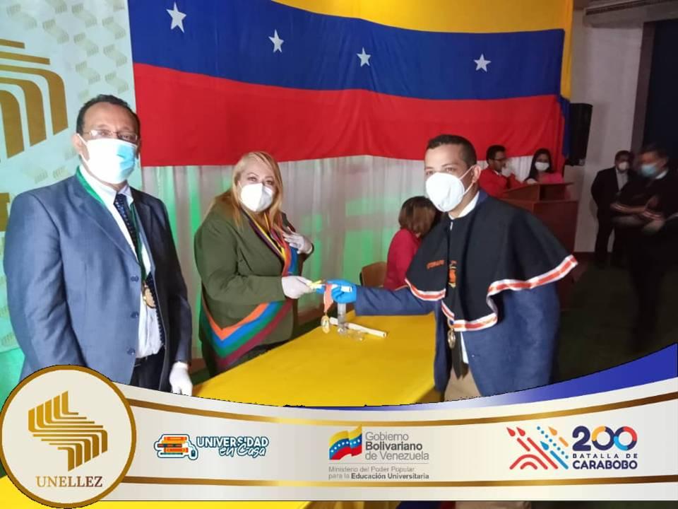 Unellez en  Cojedes culmina  jornada de grados  2021