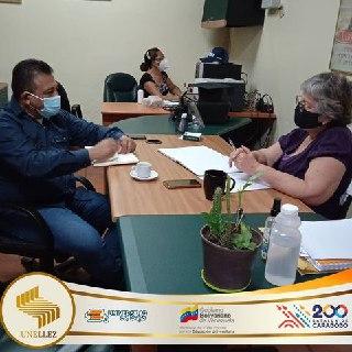 Alcalde de Barinas visita Vicerrectorado de Planificación y Desarrollo Social de la Unellez