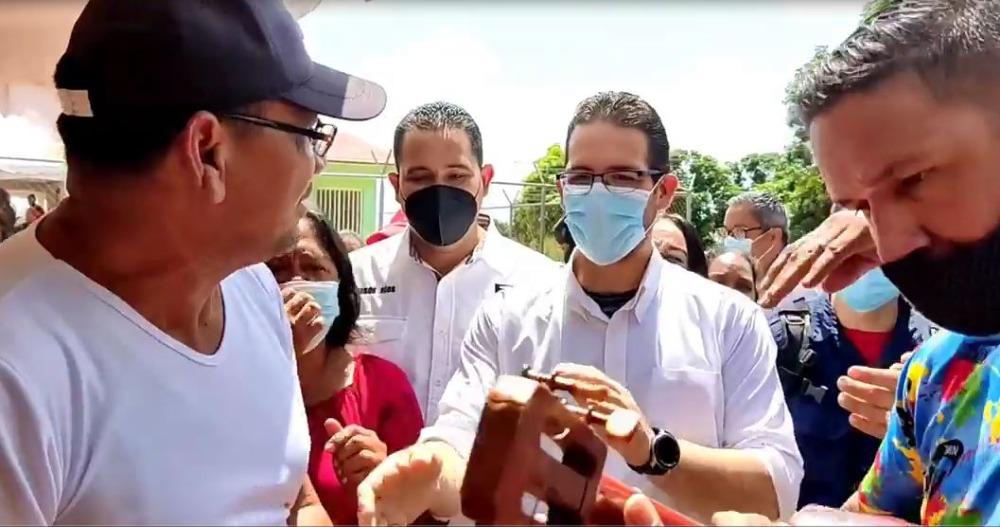 Ministro Trómpiz compartió con la Comuna «Nueva Era Socialista» en Anaco