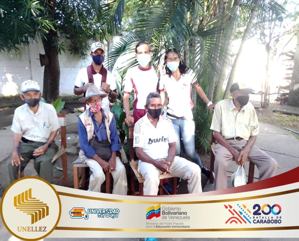 Unellez realiza jornada de convivencia para los adultos mayores en Apure